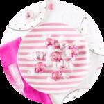PinkPartyお菓子小丸